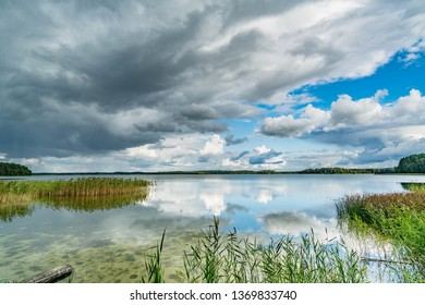 Wigry Lake in Wigry National Park, Poland