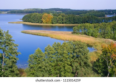 Wigry lake on the east of Poland