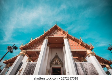 Wihan Phra Mongkhon Bophit, Phra Nakhon Si Ayutthaya, Thailand, World Heritage - Shutterstock ID 1872637318