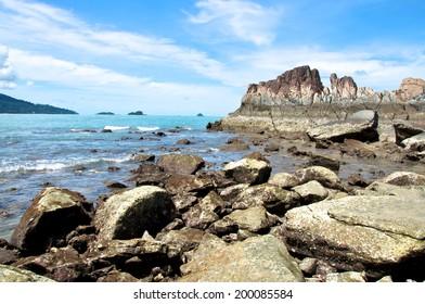 Wild Beach Coast Thailand