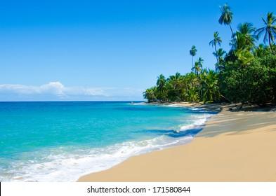 Wild beach Costa Rica