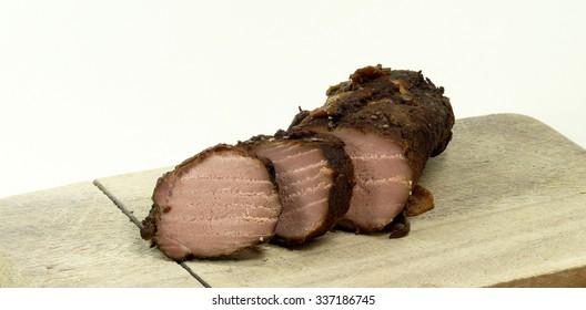 wild boar roast beef