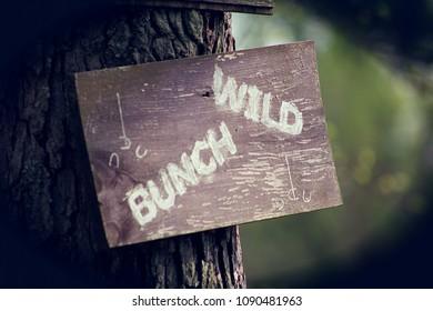Wild Bunch Sign