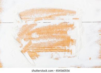 wild flour background