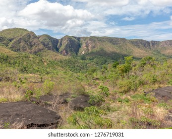 wild landscape at Chapada dos Veadeiros in Brazil
