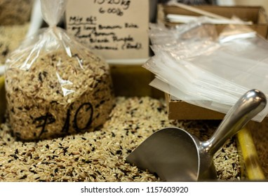 wild  rice scooped bags