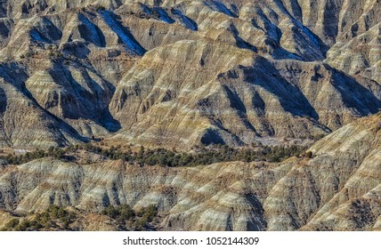 Wild rugged country in the Grand Staircase Escalante national Monument in Utah.