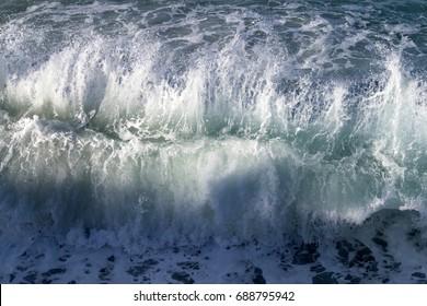 Wild Sea Waves Tuscany Cinque Terre