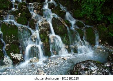 Wild water cascades
