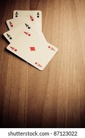 Wild West poker hand