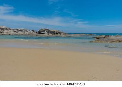 Wild White Sardinia Sea Beach