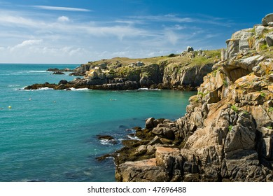 Wildcoast of Ile d'Yeu in France