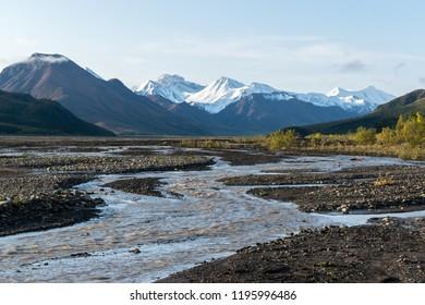 Wilderness in Denali national park, Alaska