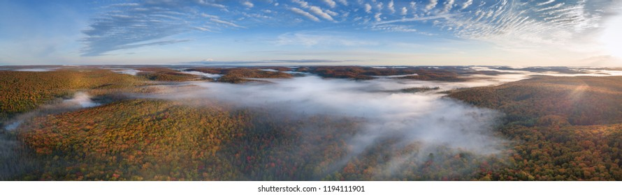 Wilderness Fall Colors From Above