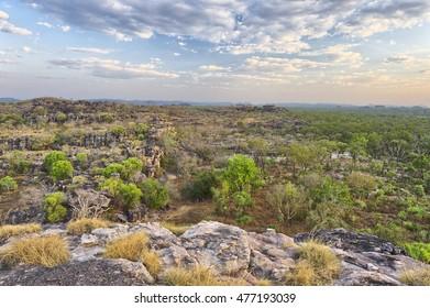 Wilderness at Ubirr in Kakadu National Park, Northern Territories, Australia