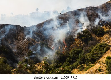 Wildfire on the Mountainside