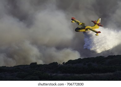 Wildfire in southern Spain