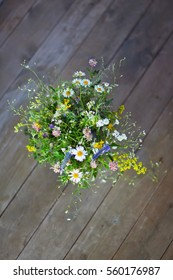 wildflowers. wild flowers in a bouquet