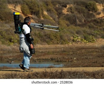 Wildlife Photographer Looking For His Next Subject