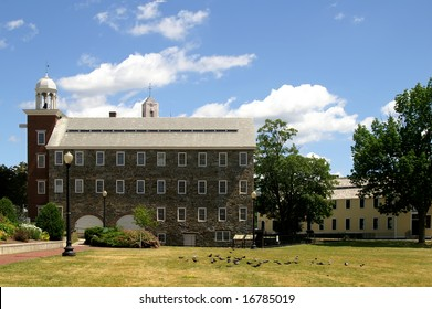 Wilkinson and Slater Mills, Pawtucket, RI Horizontal With Copy Space