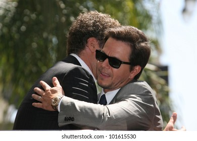 Will Ferrell and Mark Wahlberg at Mark Wahlberg's Star Ceremony on the Hollywood Walk Of Fame, Hollywood, CA. 07-29-10