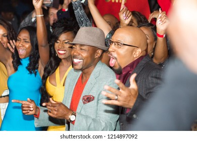 """Will Packer and Cast member - attending """"Ready to Love"""" Dating Show premiere watch party by Own Network at Suite Lounge on 10/23/2018 in Atlanta, Ga - USA"""