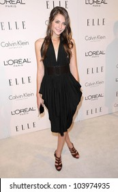 Willa Holland at the 16th Annual Elle Women in Hollywood Tribute Gala. Four Seasons Hotel, Beverly Hills, CA. 10-19-09