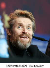 Willem Dafoe attends the Homage Willem Dafoe press conference during the 68th Berlinale International Film Festival Berlin at Grand Hyatt Hotel on February 20, 2018 in Berlin, Germany