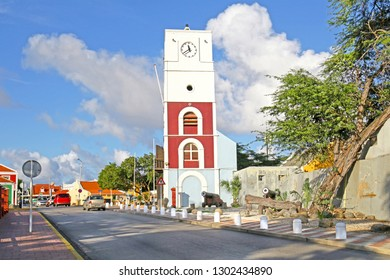 Willem III Tower at Fort Zouman.  It was a military fortification at Oranjestad, Aruba. Built in 1798 by the Dutch army, it is the oldest structure on Aruba island