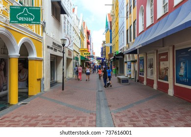Willemstad, Curacao, 17 Dec 2015 - Willemstad City of Curacao