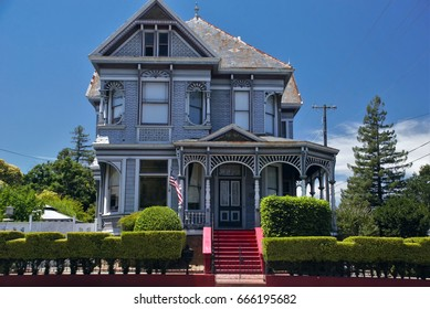 William Andrews Victorian style house in Napa, California