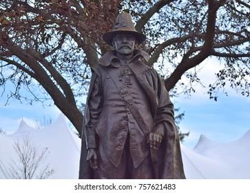 William Bradford Statue Plymouth Massachusetts