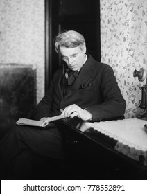 William Butler Yeats, Anglo-Irish poet, ca. 1925