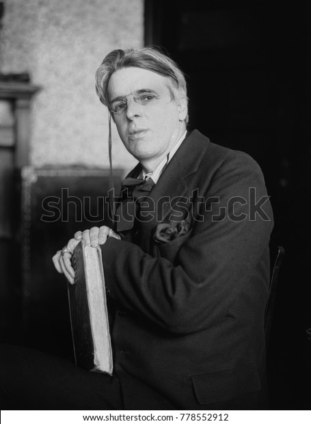 William Butler Yeats, Irish poet awarded the 1923 Nobel Prize in Literature