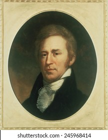 William Clark 1770-1838. Portrait by Charles Wilson Peale.