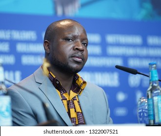 William Kamkwamba attends the press conference for the Netflix film 'The Boy Who Harnessed The Wind' during the 69 Berlinale Film Festival at Grand Hyatt Hotel on  February 12, 2019 in Berlin, Germany