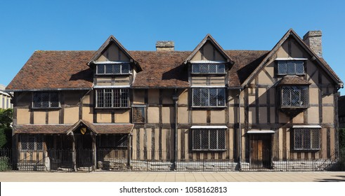 William Shakespeare birthplace in Stratford Upon Avon, UK