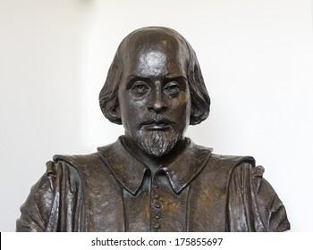 William Shakespeare sculpture, London, Great Britain