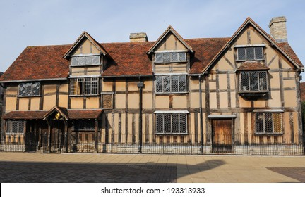 William Shakespeare's Birthplace in Henley Street, Stratford upon Avon.  It is managed by the Shakespeare Birthplace Trust.