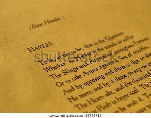 Hamlet de William Shakespeare (texto original en inglés medio del primer Folio de 1623) - enfoque selectivo