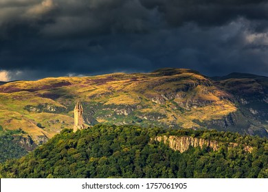 The William Wallace monument, Stirling