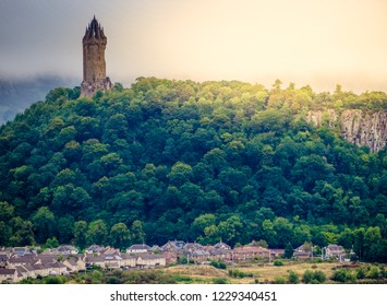 William Wallace Monument, Stirling, Scotland. September 3rd, 2018