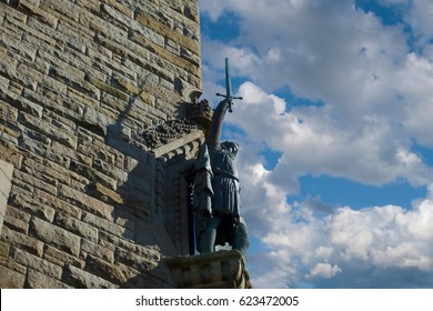 William Wallace statue on Wallace Monument