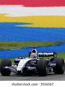 Williams F1 driver Nico Rosberg in action in Malaysia