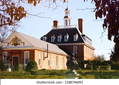 WILLIAMSBURG, VA, USA. AUGUST 24, 2017 : Colonial Williamsburg is one of the oldest and most prestigious of U.S.