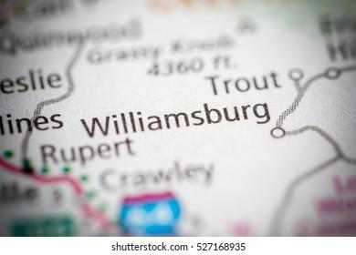 Williamsburg. West Virginia. USA