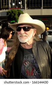 Willie Nelson at THE DUKES OF HAZZARD Premiere, Grauman's Chinese Theatre, Los Angeles, CA, July 28, 2005