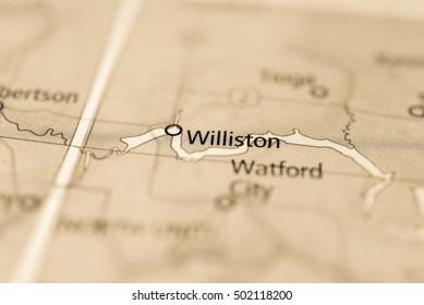 Williston, North Dakota, USA.