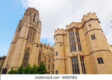 Wills Memorial Building in Bristol, England