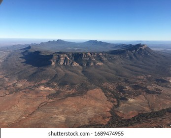 Wilpena Pound in the Flinders Ranges from the air